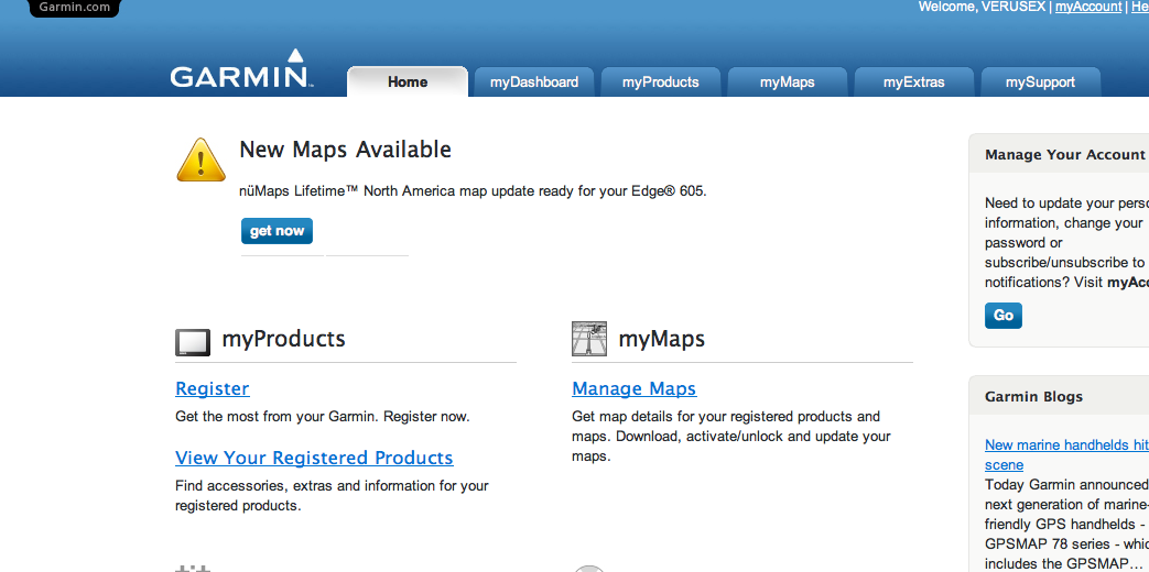 Installing/Updating Maps on Garmin Edge 705/605 SDCard with a Mac ...
