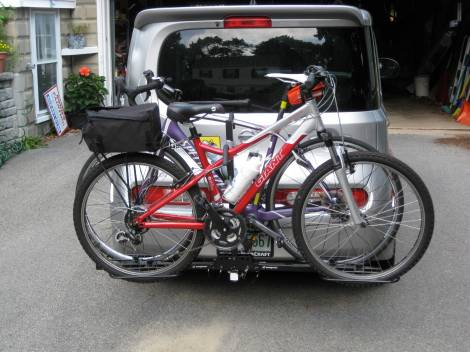 Finding A Bike Rack For My Nissan Cube Nh Fobb