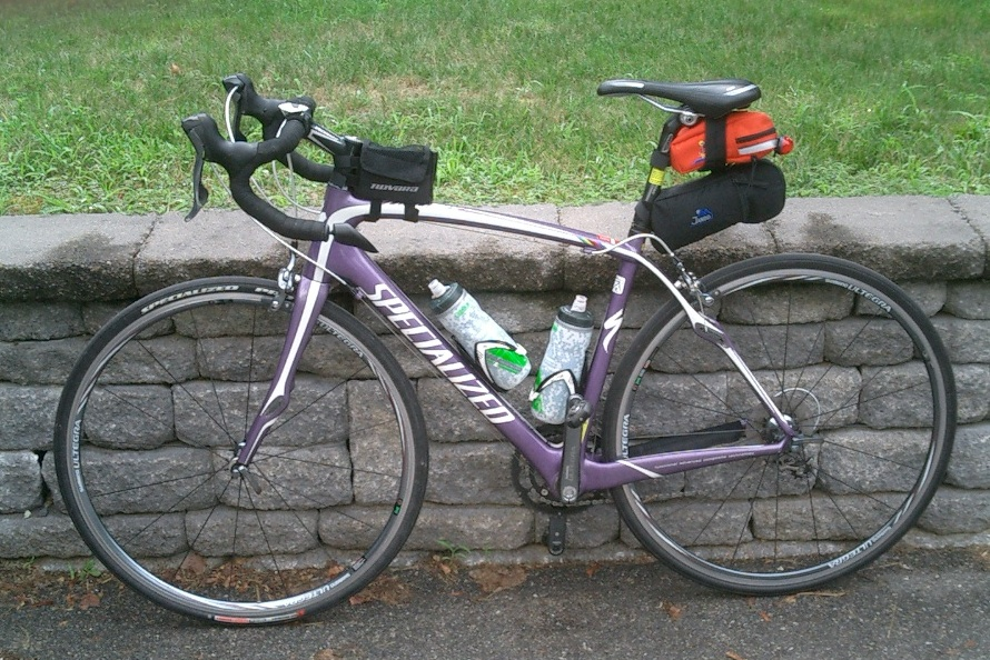 Carrying the Necessities on a Road Bike | NH Fobb .....